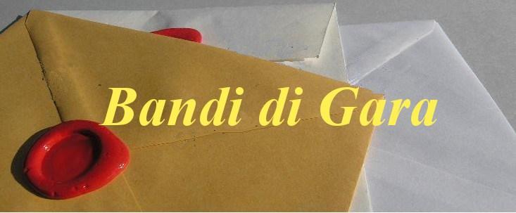 AVVISO GARA AFFIDAMENTO SERVIZIO DI GESTIONE BAR/TAVOLA FREDDA