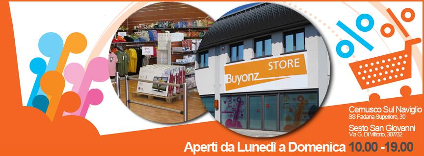 Convenzione con Buyonz Store – 2014