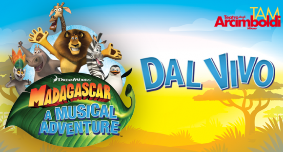 You are currently viewing TEATRO ARCIMBOLDI – Musical Madagascar