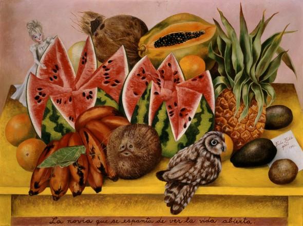 24-Frida-Kahlo-La-Novia-Asustada-al-Ver-la-Vida-Abierta-590x439