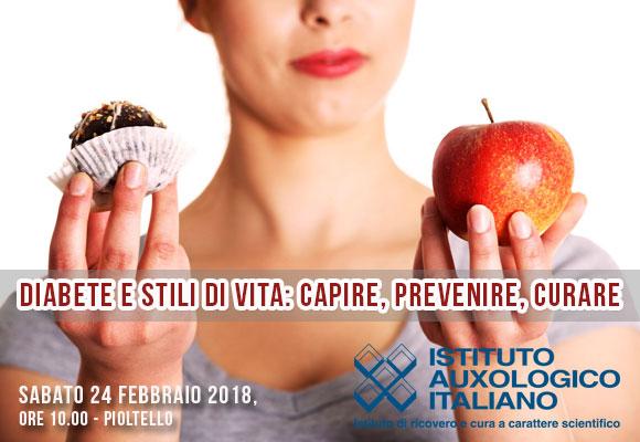 Evento gratuito organizzato da Istituto Auxologico Italiano su diabete