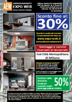 MI-Sconti arredamenti Cral Città metropolitana di Milano