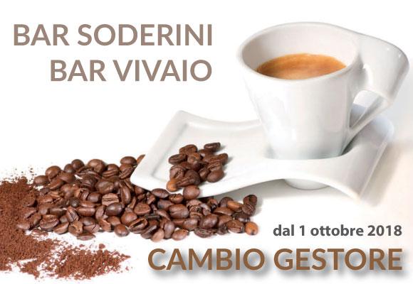 Bar Vivaio e Soderini – cambio gestore