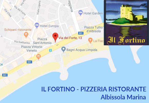 IL FORTINO – Pizzeria Ristorante – Albissola Marina (SV)