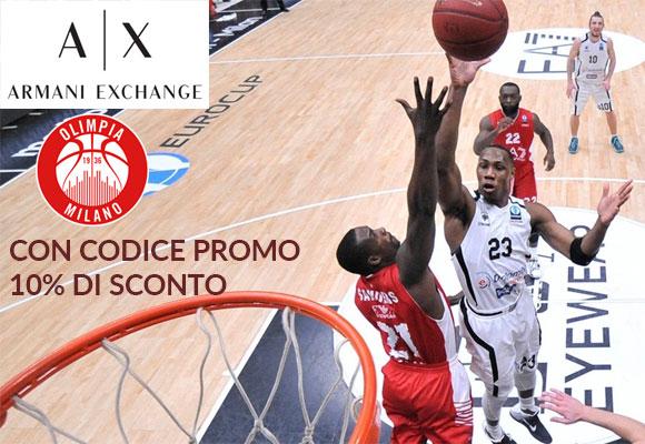 Convenzione: Biglietti A|X ARMANI EXCHANGE OLIMPIA MILANO