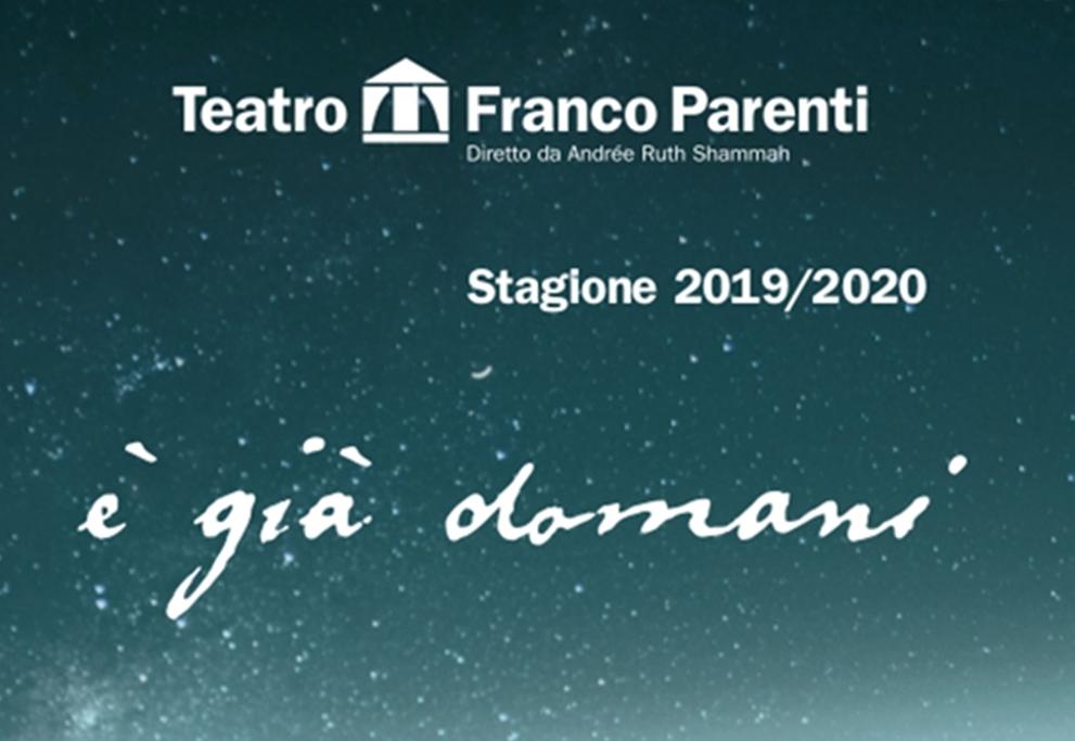 Campagna abbonamento 2019/2020   TEATRO FRANCO PARENTI