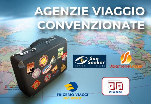Agenzie Viaggio convenzionate – richiedi il preventivo