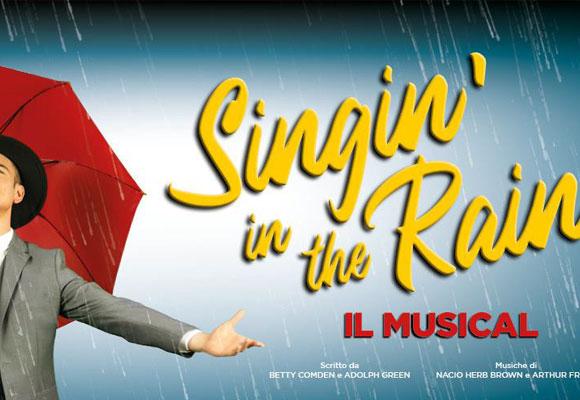 SINGIN' IN THE RAIN al Teatro Nazionale