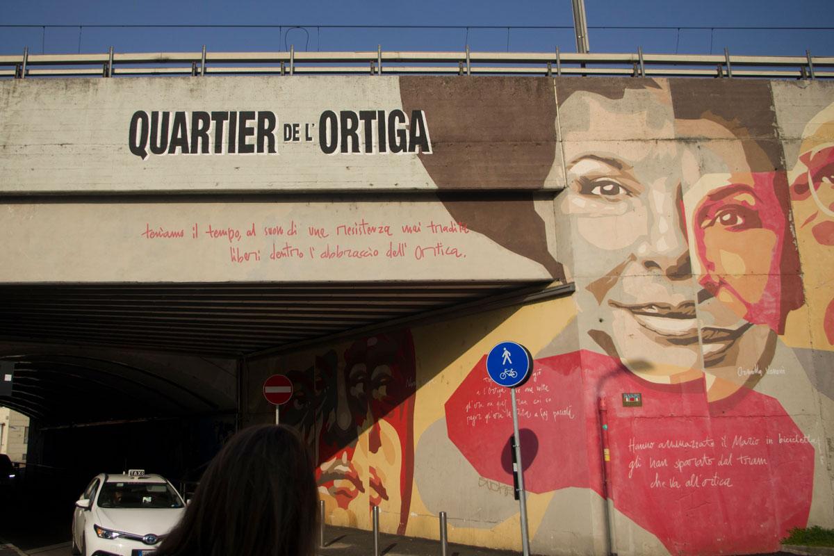 Arte di tutti e per tutti: il quartiere dell'Ortica